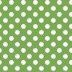 KimberBell Basics Green Polka Dots