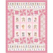 PB Little Darlings Quilt Kit Pink