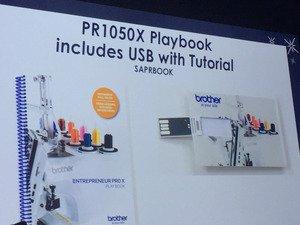Brother PR1050X Playbook