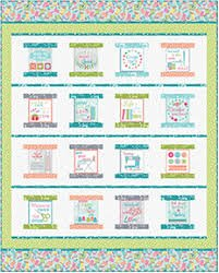 Contempo My Happy Place Quilt Kit