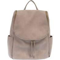 JS Mystic Grey Kerri Side Pocket Backpack