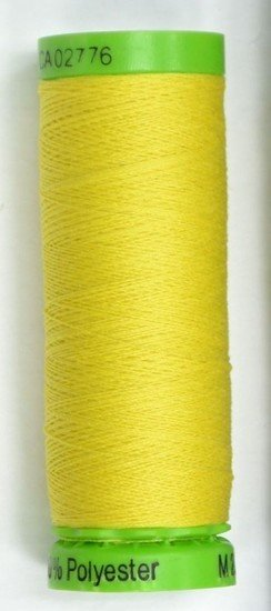 Gutermann Extra Fine Poly Embroidery 220yds Yellow