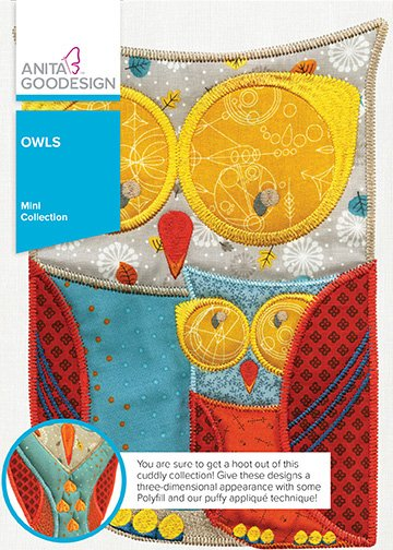 Anita Goodesign Mini Collection Owls