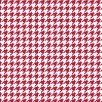 KimberBell Basics Red Houndstooth