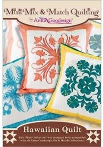 Anita Goodesign Mini Mix&Match Hawaiin Quilt