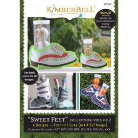 Kimberbell Sweet Feet: Vol 2 Machine Embroidery CD