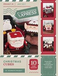 Anita Goodesign Express Christmas Cubes