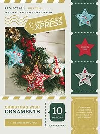 Anita Goodesign Express Christmas Wish Ornaments