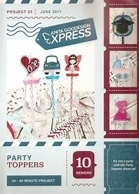 Anita Goodesign Express Party Toppers