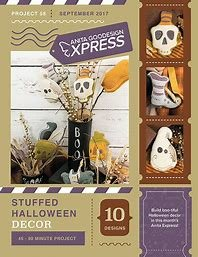 Anita Goodesign Express Stuffed Halloween Decor