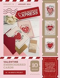 Anita Goodesign Express Valentine Emb Cards