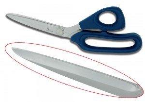 Famore 8 Blue Handle Fabric Scissors