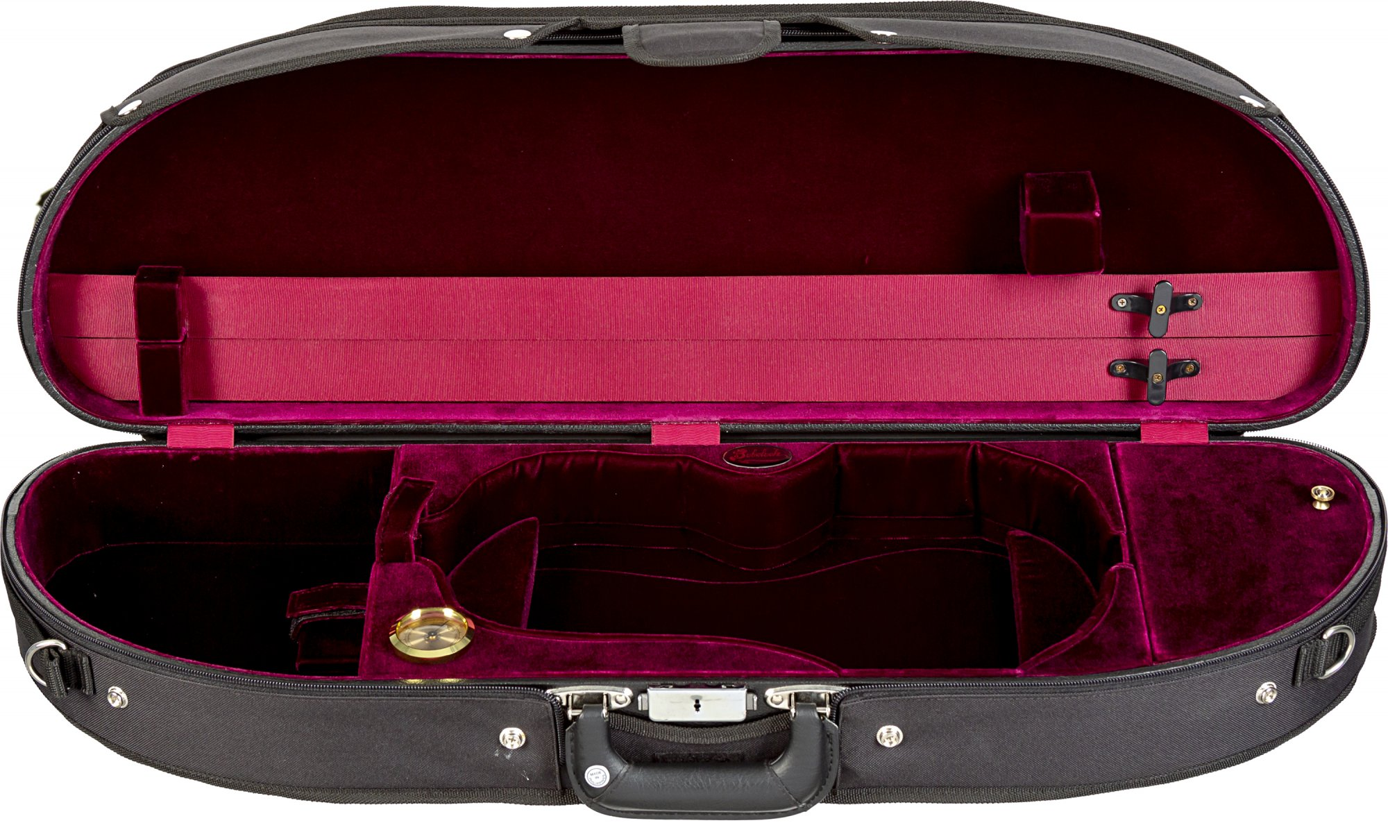Bobelock 1047 (Wooden) Half Moon Violin Case