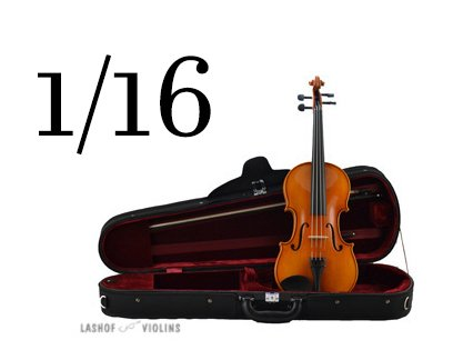 Leon Albert - 1/16 Violin Outfit (for Quarterly Online Rental Agreement)