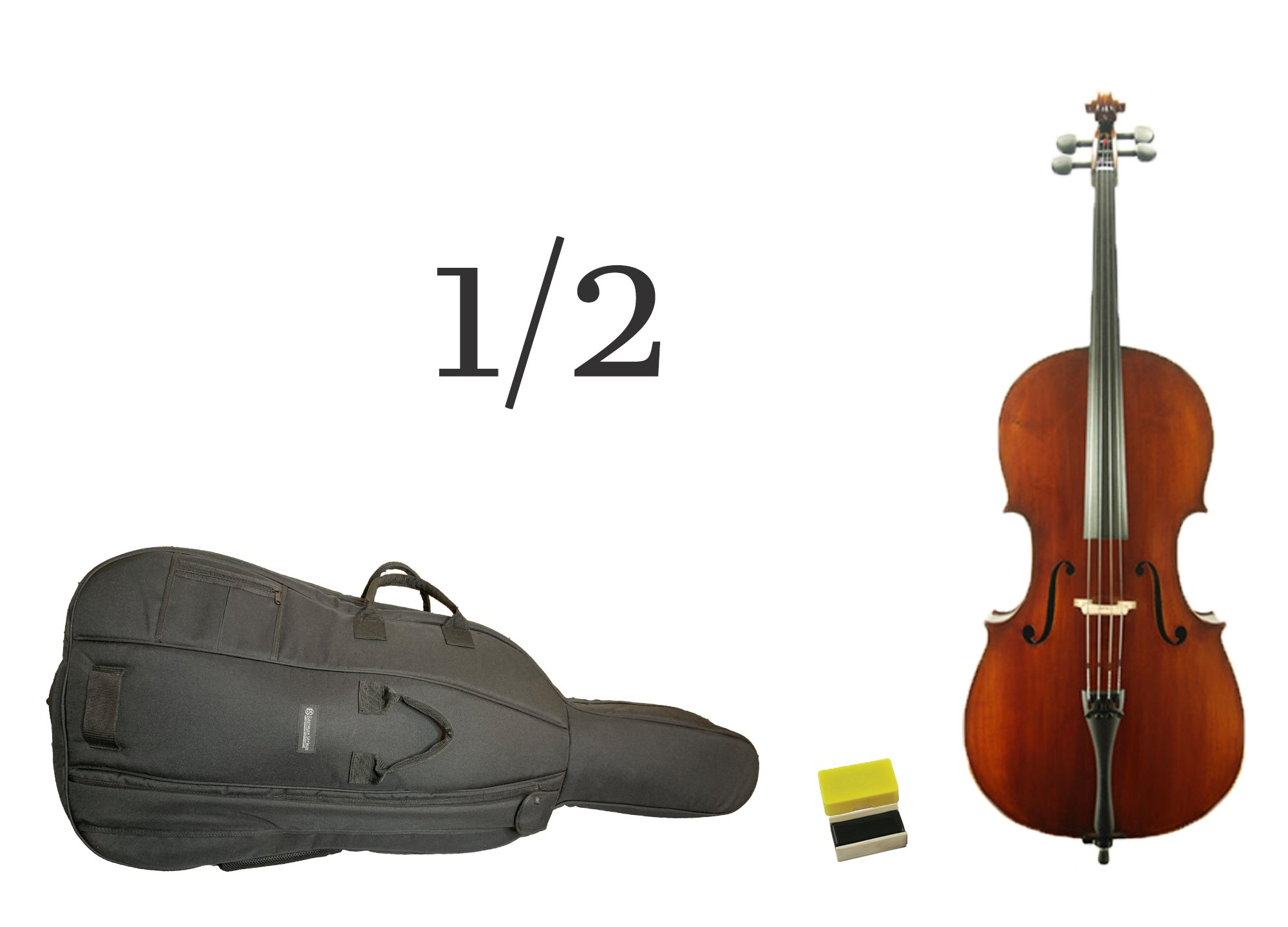 Century 110 - 1/2 Cello Outfit (for Quarterly Online Rental Agreement)