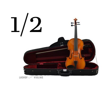 Leon Albert - 1/2 Violin Outfit (for Quarterly Online Rental Agreement)