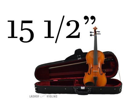 Leon Albert - 15.5 Viola Outfit (for Quarterly Online Rental Agreement)