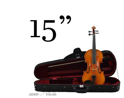 Leon Albert - 15 Viola Outfit (for Quarterly Online Rental Agreement)