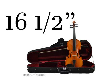 Leon Albert - 16.5 Viola Outfit (for Quarterly Online Rental Agreement)