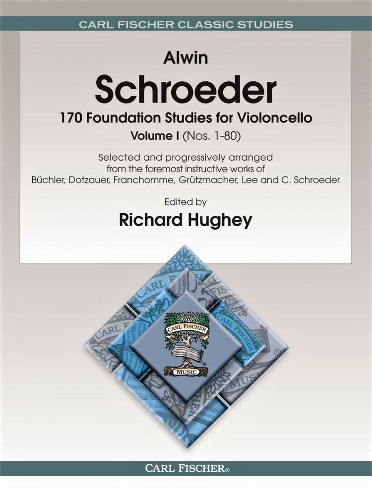 170 Foundation Studies for Violoncello Vol 1 -  Schroeder - Fischer