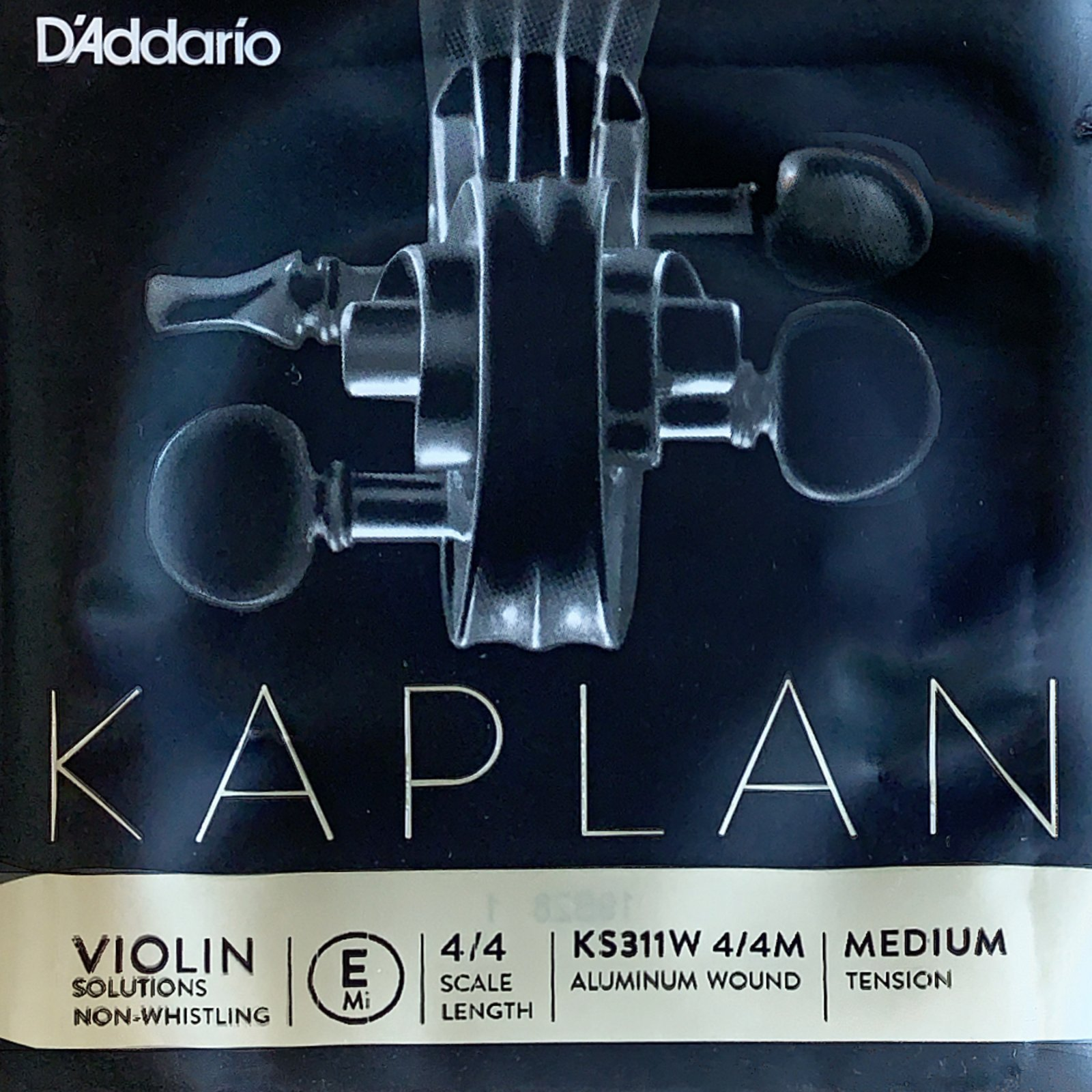Kaplan Non Whistling E Violin