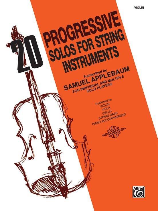 20 Progressive Solos - Violin - Applebaum - Alfred