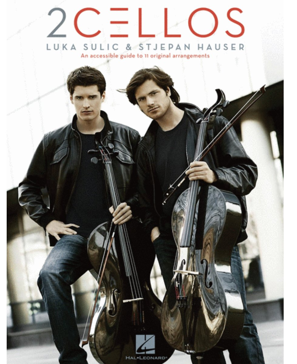 2cellos Revised Edition - Luka Sulic & Stjepan Hauser - Two Cellos - Hal Leonard