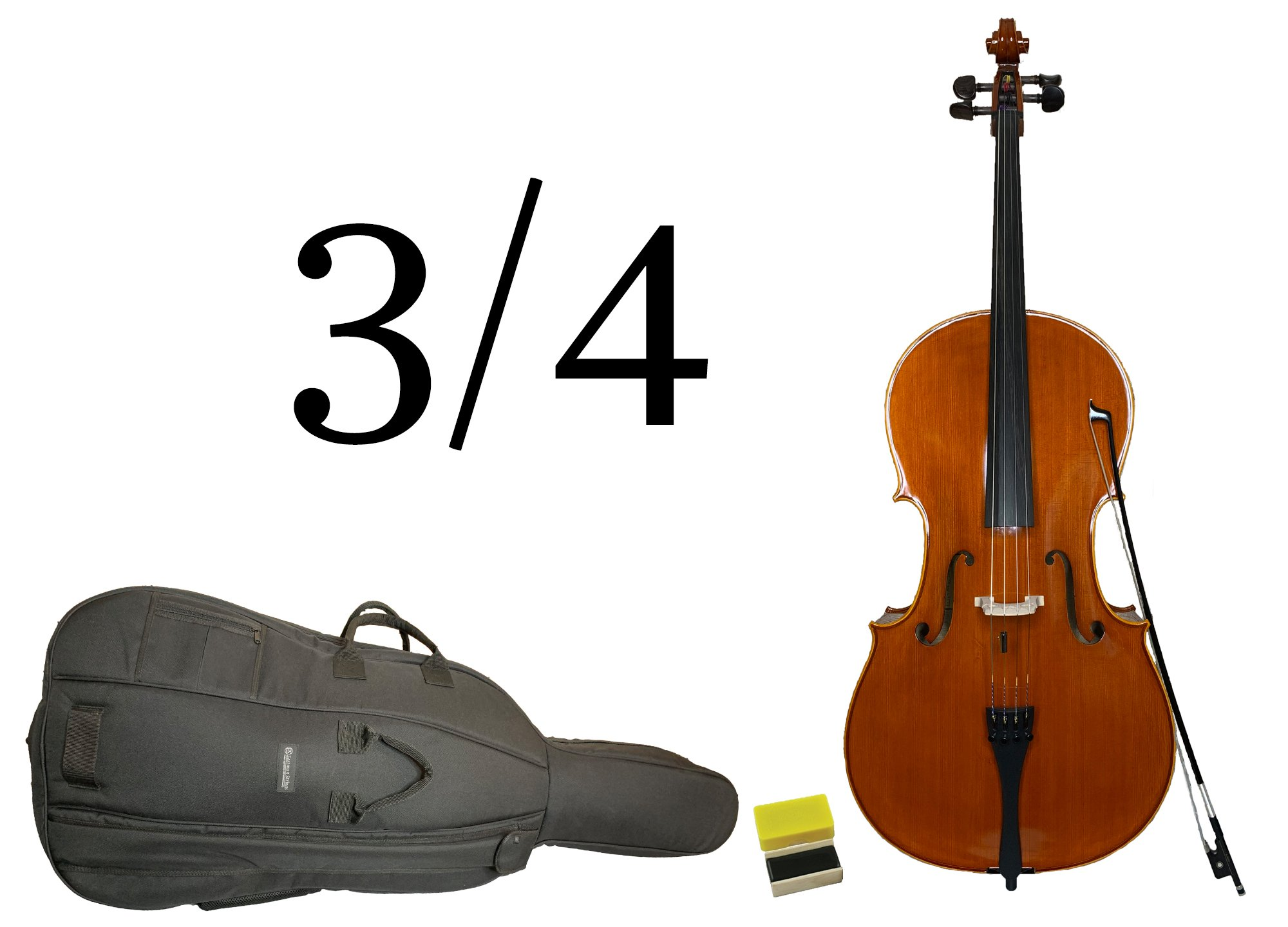 Gustav Lowendahl - 3/4 Cello Outfit (for Quarterly Online Rental Agreement)