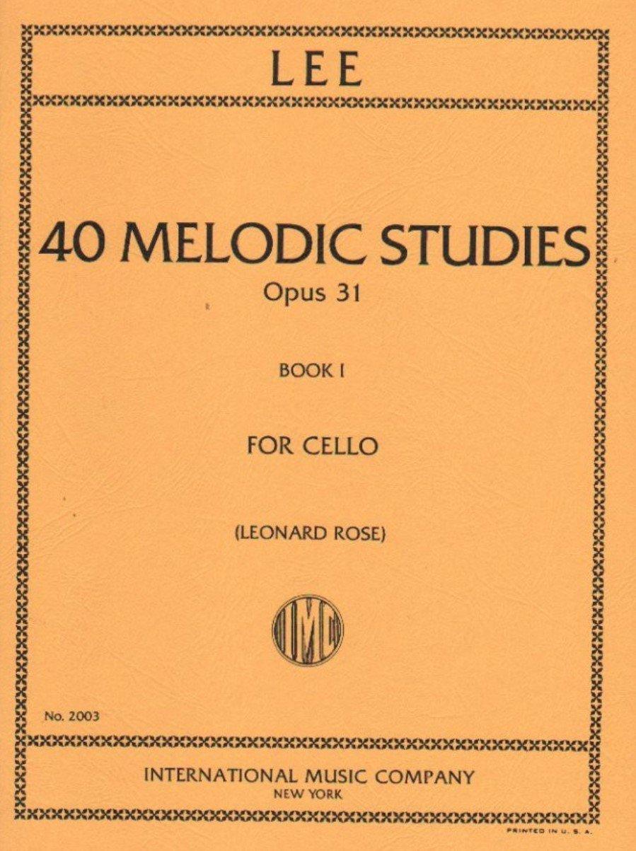 40 Melodic Studies Op 31 Vol 1 - Lee - Cello - Rose - International