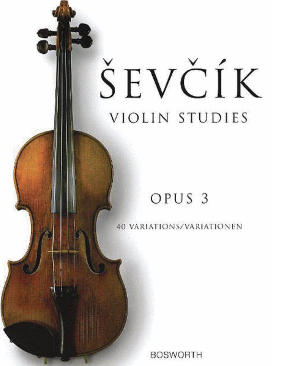 40 Variations Opus 3 - Sevcik - Violin - Bosworth