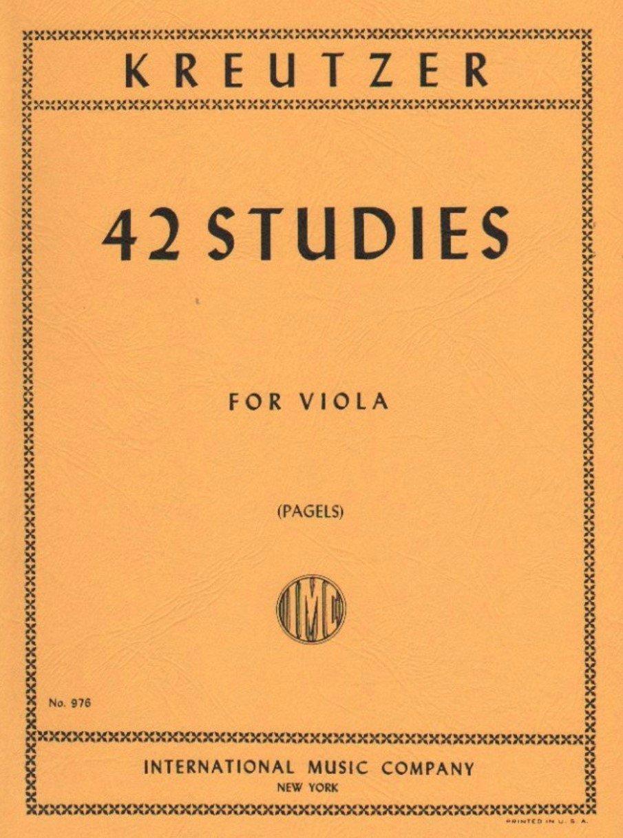 42 Studies - Kreutzer - Viola - Pagels - International