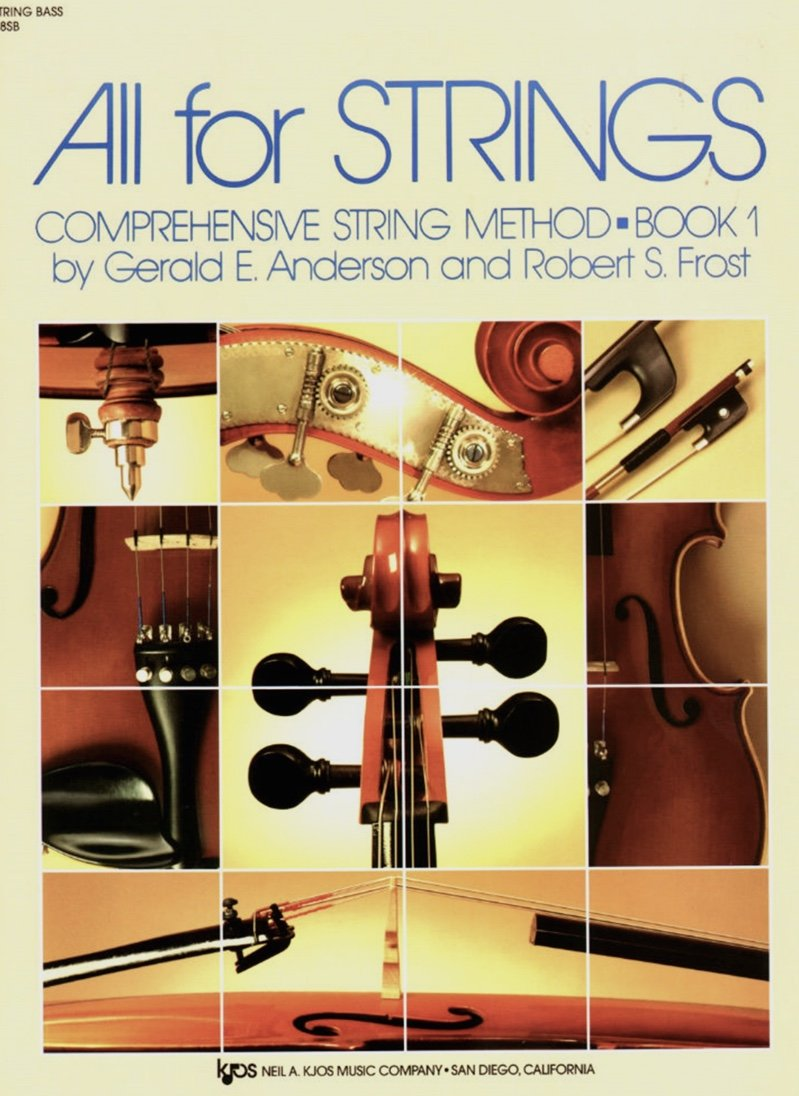 All For Strings Bk 1 - Anderson Frost - Bass - Kjos