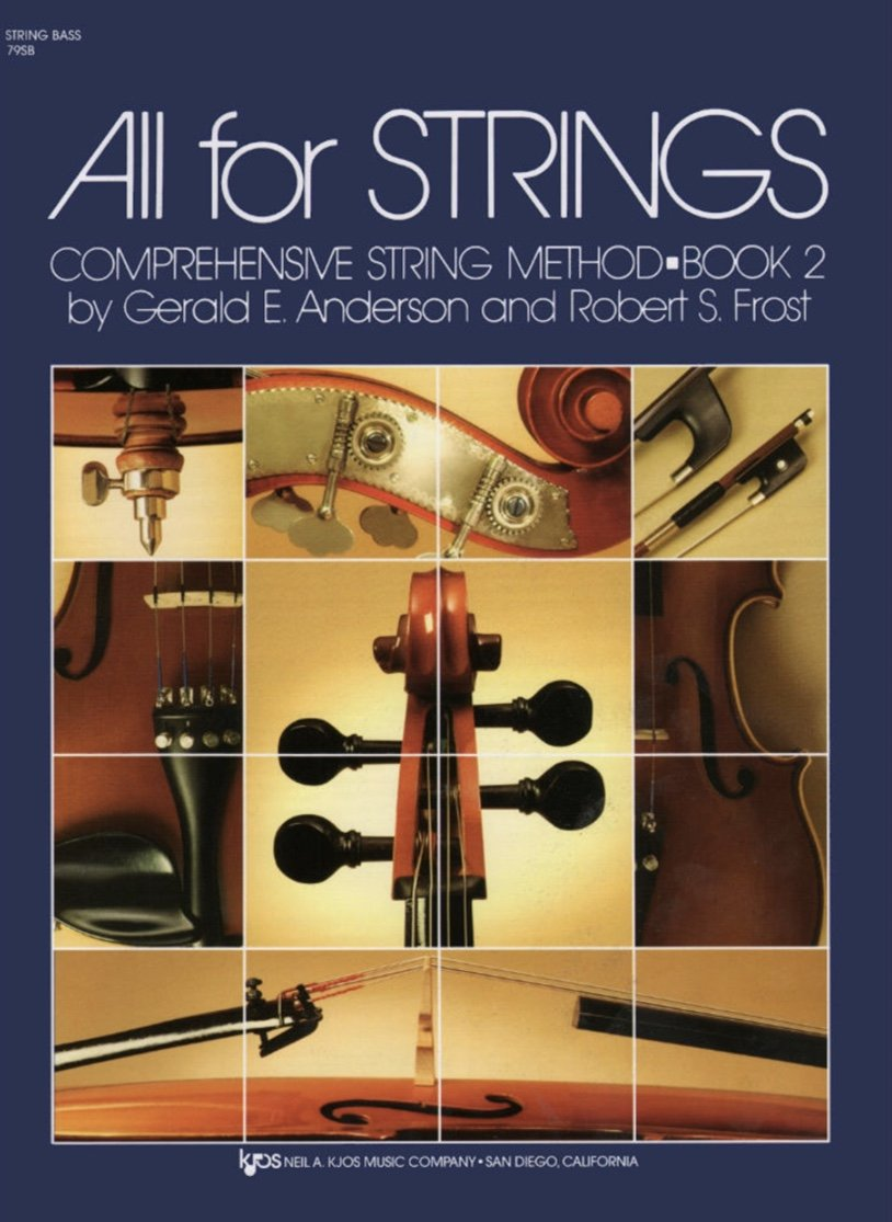 All For Strings Bk 2 - Anderson Frost - Bass - Kjos