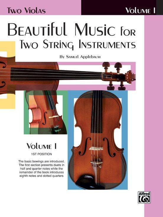 Beautiful Music for Two String Instruments Vol 1 - Applebaum - Viola Viola - Alfred