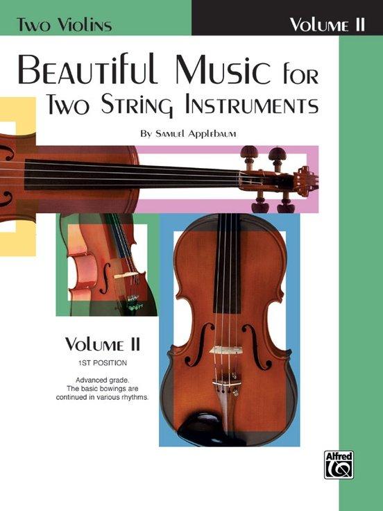 Beautiful Music for Two String Instruments Vol 2 - Applebaum - Violin Violin - Alfred