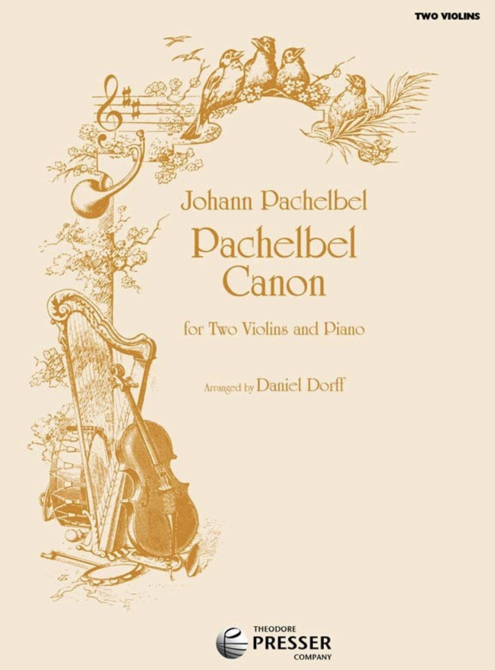 Canon - Pachelbel - Dorff - Violin Violin - Presser