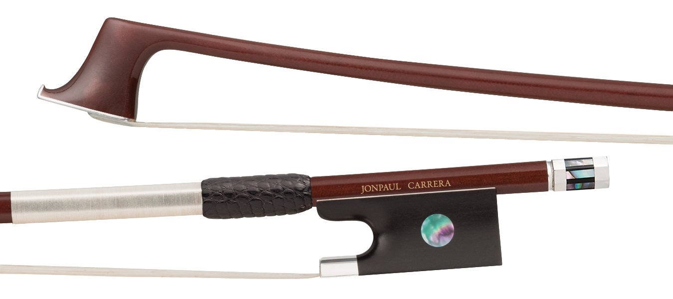 Jon Paul Carrera Violin Bow - 4/4 (Ebony Frog)