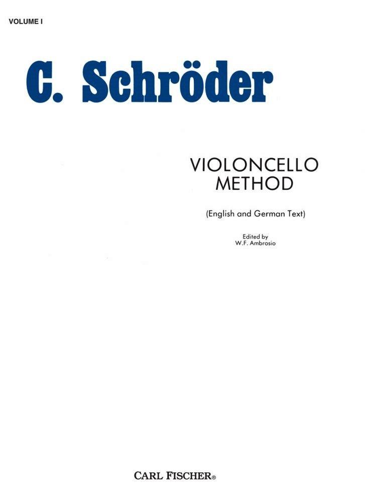 Violincello Method Vol 1 - Schroeder - Cello - Fischer