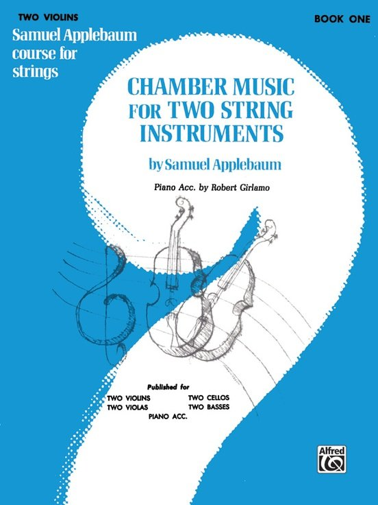 Chamber Music for Two String Instruments Bk 1 - Applebaum - Violin Violin - Alfred