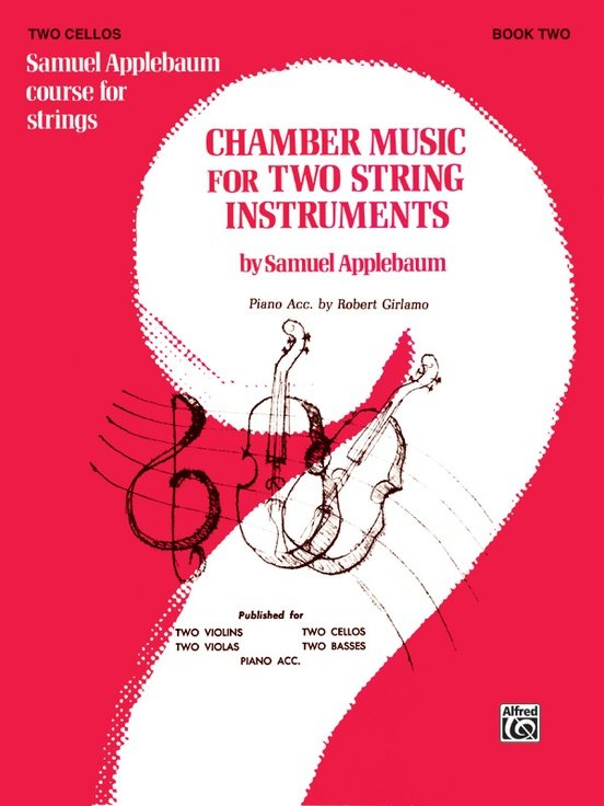 Chamber Music for Two String Instruments Bk 2 - Applebaum - Cello Cello - Alfred