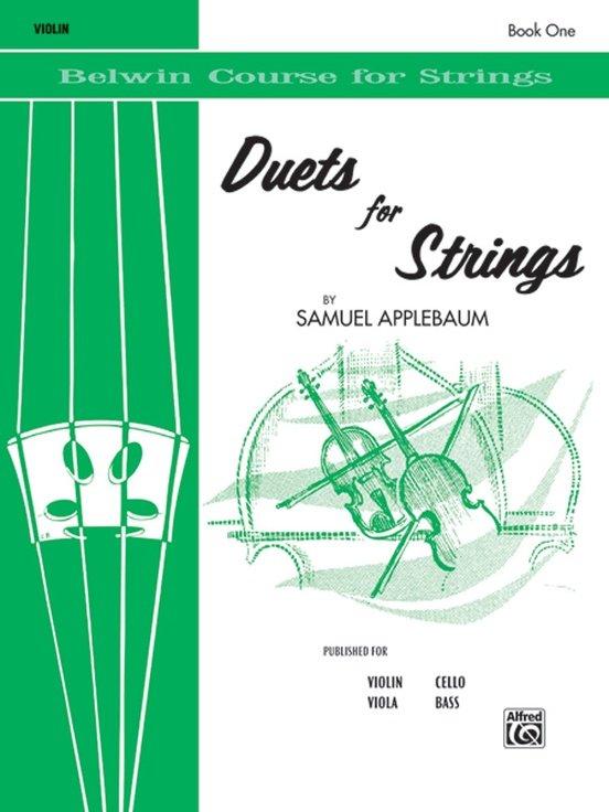 Duets for Strings Bk 1 - Applebaum - Violin - Alfred