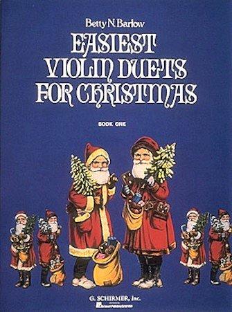 Easiest Violin Duets for Christmas Book 1 - Various - Violin - Barlow - G.Schirmer