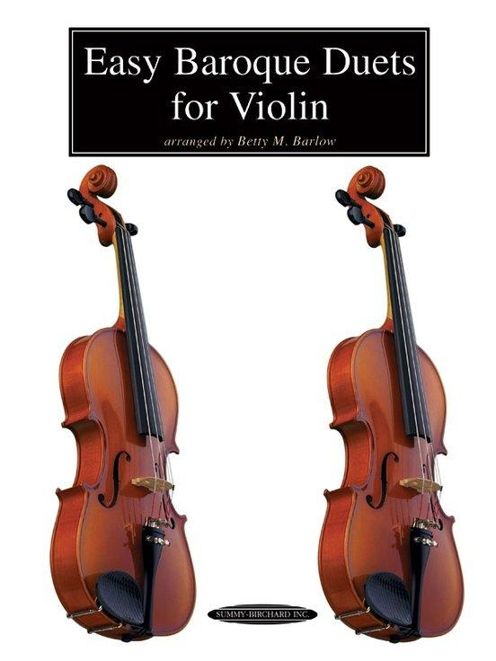 Easy Baroque Duets for Violin - Barlow - Violin - Summy-Birchard
