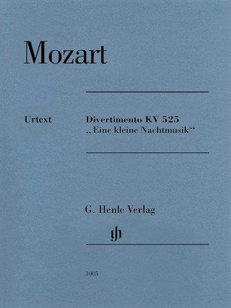 Eine Kleine - Divertimento KV525 - Mozart - Quartet - Henle