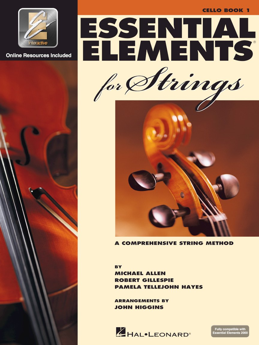 Essential Elements Bk 1 - Allen - Cello - Hal Leonard