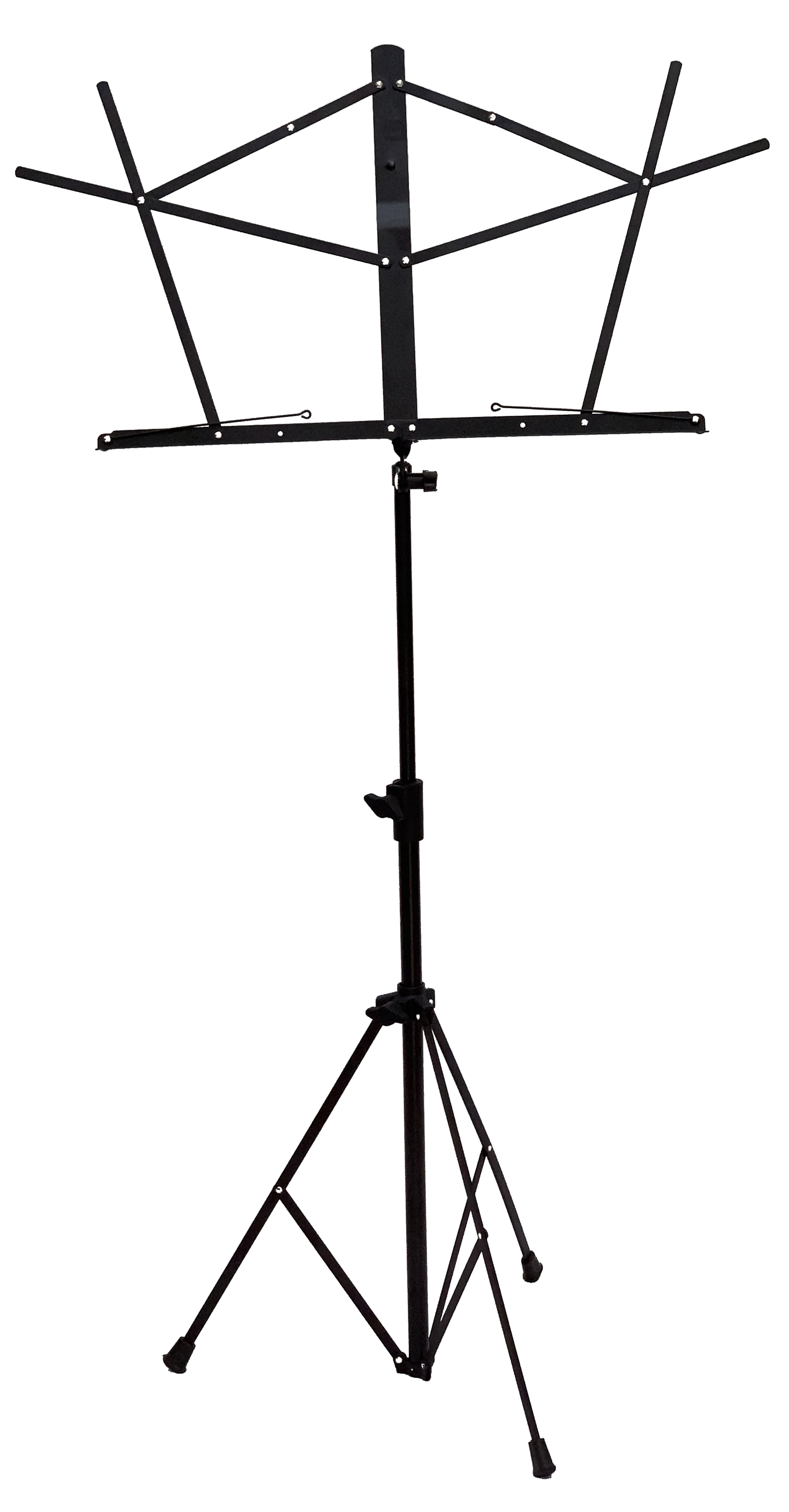Music Stand - Wire Folding - Black