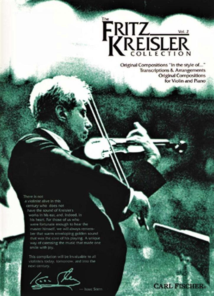 The Fritz Kreisler Collection Vol 2  - Kreisler - Violin - Fischer