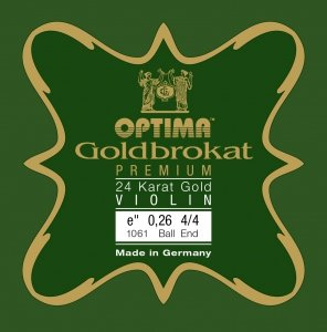 Goldbrokat 24K Gold Premium Violin E String