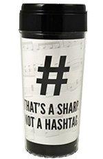 That's a Sharp Not a Hashtag Tumbler