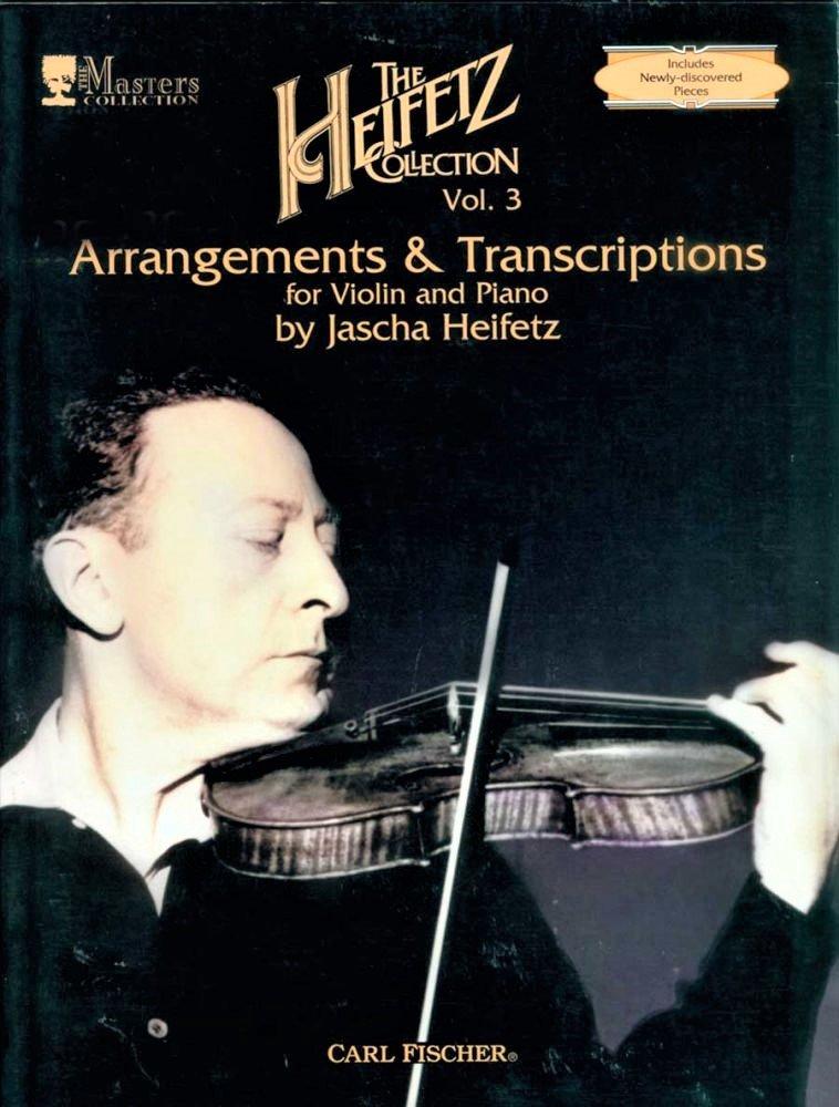 Heifetz Collection Vol 3 - Heifetz - Violin Piano - Fischer